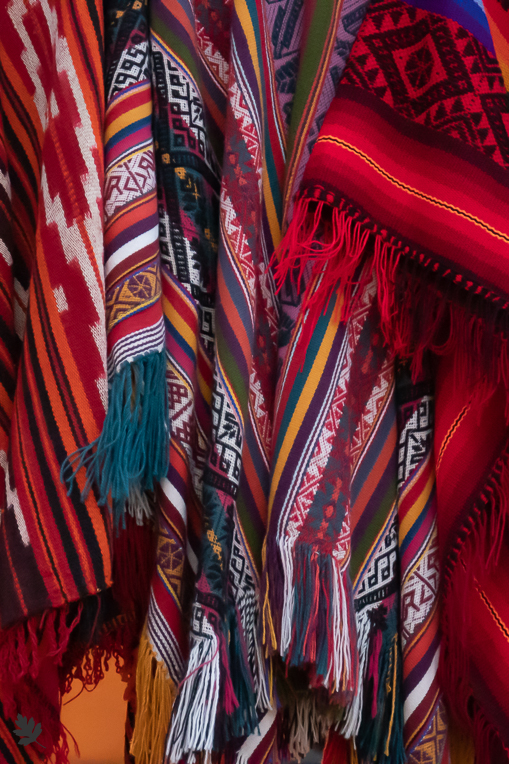 Textilien-Ollantaytambo