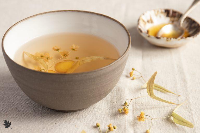Ingwer-Linden-Tee