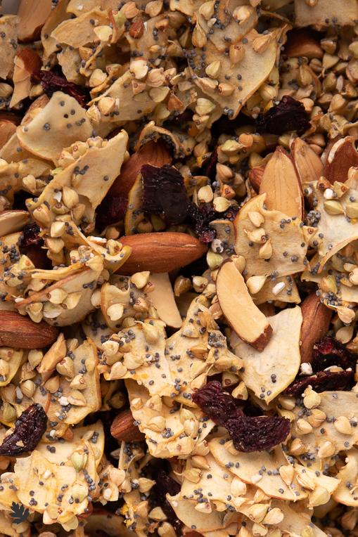 Buchweizen-Kirsch-Granola