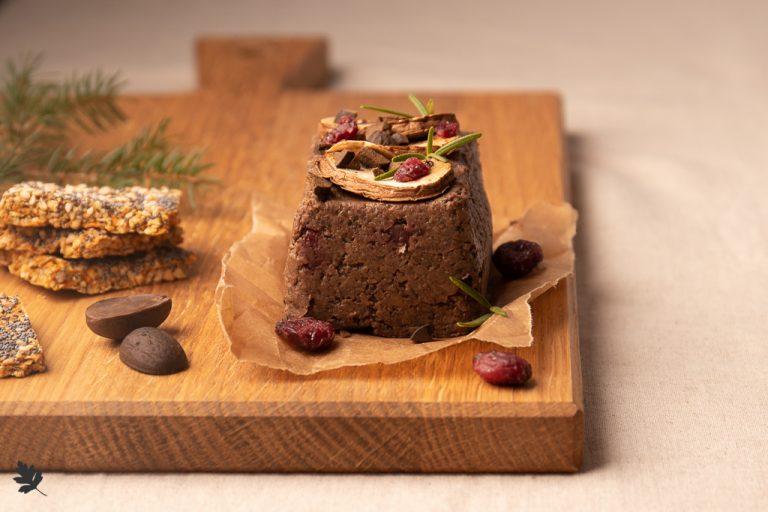 Eichel-Pilz-Pâté mit Cranberries